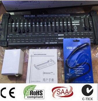 Hot sale International standard DMX 384 controller controller moving head beam light console DJ 512 dmx controller equipment