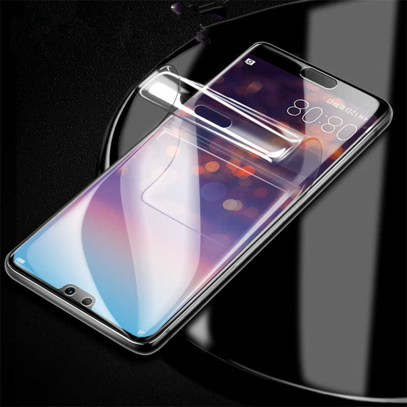 10D Soft Hydrogel Protective Film For Huawei Honor 9 10 Lite Magic 2 V9 V10 9i PLAY 8X max V20 Film Screen Protector Not Glass