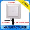 902 ~ 928 mhz UHF RFID 5 mt mittleren bereich UHF RFID leser mit WIFI kommunikationsschnittstelle + freies tags & SDK-in Kontrolle-Kartenleser aus Sicherheit und Schutz bei