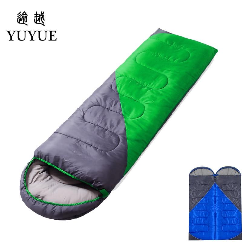 1600g Waterproof Camping Sleeping Bag For Accesorios Playa Splicing Double Sleeping Bags Ultralight Outdoor Camping Sleep Bag  0