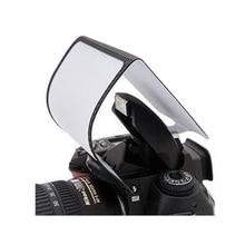1 шт. Универсальный мягкий экран всплывающий Рассеиватель Вспышки для всех камер
