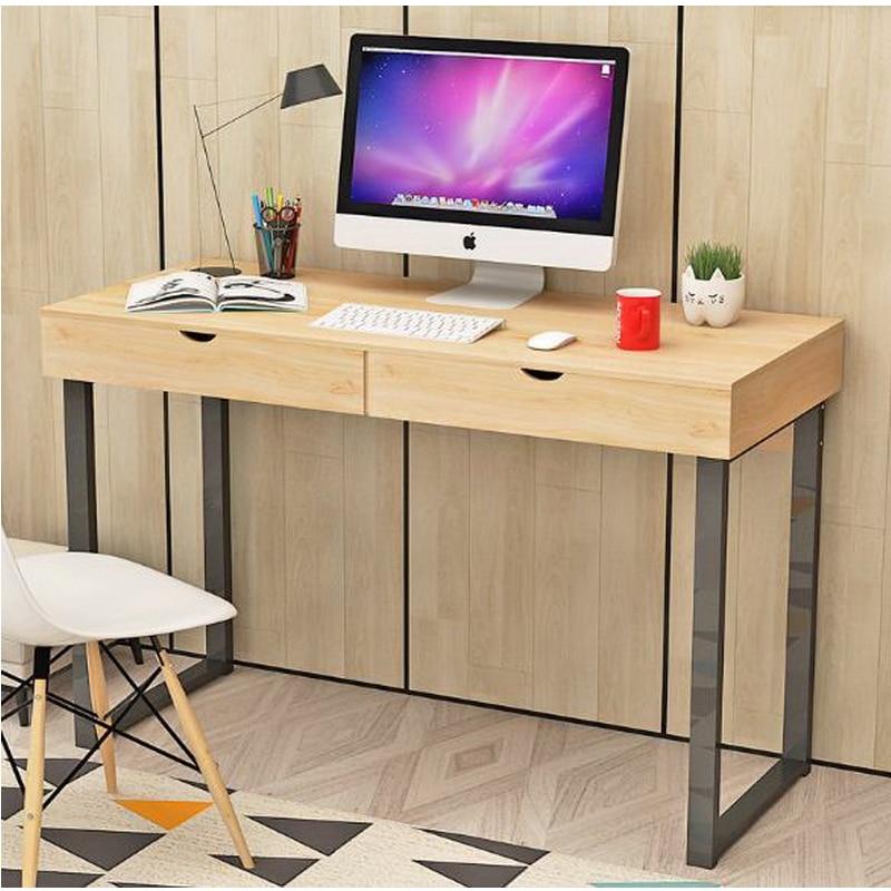 computer desk home modern desk simple table laptop key steel frame - Cheap Desk