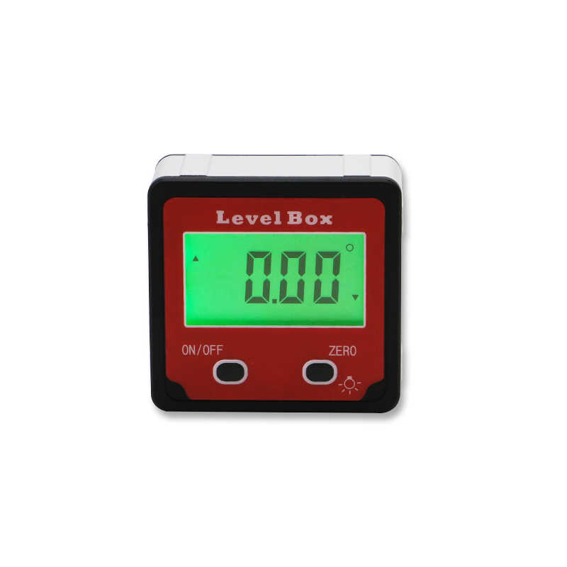 Electronic Protractor Inclinometer Bevel Box Angle finder Digital Inclinometer With Backlight Angle Measurement Angle Gauge