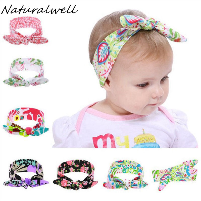 Naturalwell Baby Girl Top Knot Headband Kids Turban Child Girls Headwrap Knotted Head wraps head tie baby shower gift HB537 naturalwell flower headband bandage lace hairband girls hairpiece child hair accessory baby hairband newborn shower gift hb090