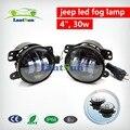 """One pair 4"""" Led Fog Lights for Jeep Wrangler JK Led Fog Lamps Front Bumper Lights"""