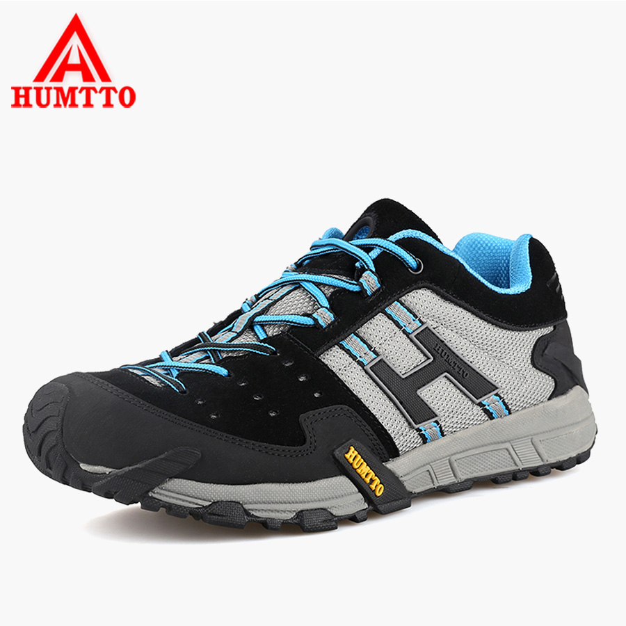 HUMTTO 2017 Men Hilking Sneakers Breathable Mountain Climbing Low-cut Sport Shoes Outdoor Shoes Men Athletic Plus Size peak sport men outdoor bas basketball shoes medium cut breathable comfortable revolve tech sneakers athletic training boots
