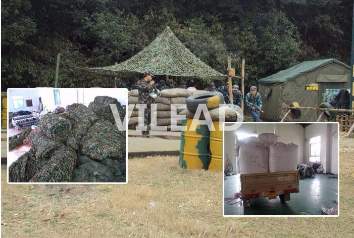 VILEAD 2M x 10M 6 5FT x 33FT Woodland Military Camouflage Netting Army Camo Net Sun