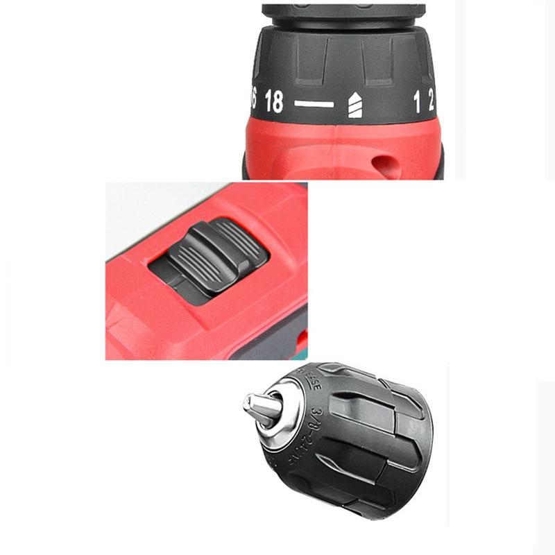 Cacciavite elettrico 12V Batteria al litio Martello Trapano a - Utensili elettrici - Fotografia 3