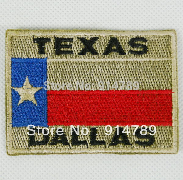 US UNITED STATES TEXAS DALLAS EMBROIDERED PATCH -32270