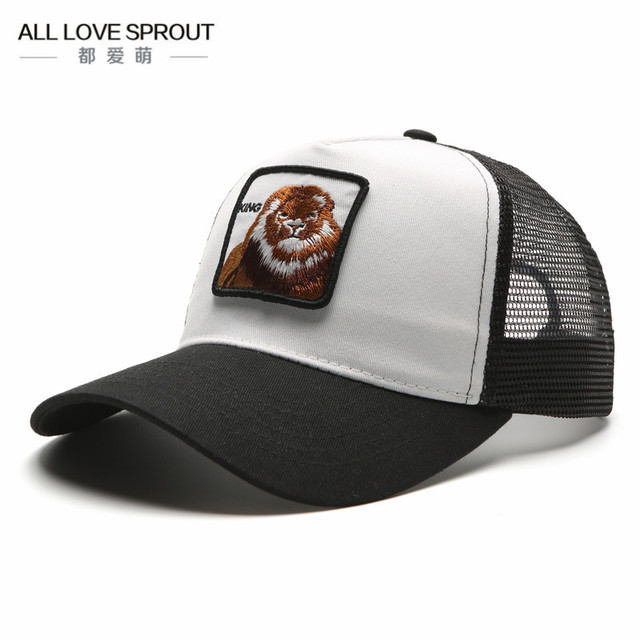2017 snapback trucker mesh cap women baseball cap men women casquette  gorras planas King snapback caps hats for free ship 28e63063b2f