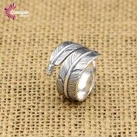 Coreopsis jóias de prata esterlina anéis de prata para as mulheres 925 jóias vintage estilo retro anel de aço anéis de casamento dos homens jóia