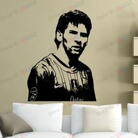 Free shipping Wall Stickers Wholesale and retail Wall decor PVC material decals Football soccer Living Effect Z-269