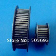 MXL стальной шкив ГРМ продавать по паре соотношение 1:2 шкив 30 и 60 зубьев