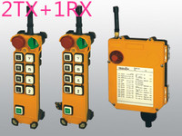 F24 8D(include 2 transmitter and 1 receiver)/crane Remote Control /wireless remote control/Uting remote control