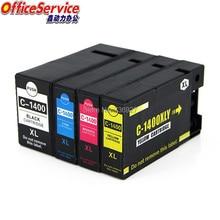 цена на PGI-1400 PGI1400 PGI1400XL Compatible ink Cartridge For Canon MAXIFY MB2340 MB2040 MB2140 MB2740 inkjet printer