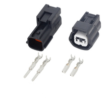 10PCS 2 hole jacket vehicle equipped with connectors car connector terminals DJ7022A-2.2-21