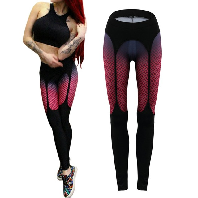 3a8bc38c56 Women yoga Pants leggings sports tights Fitness Running Tights sportswear  woman gym clothes mallas mujer deportivas