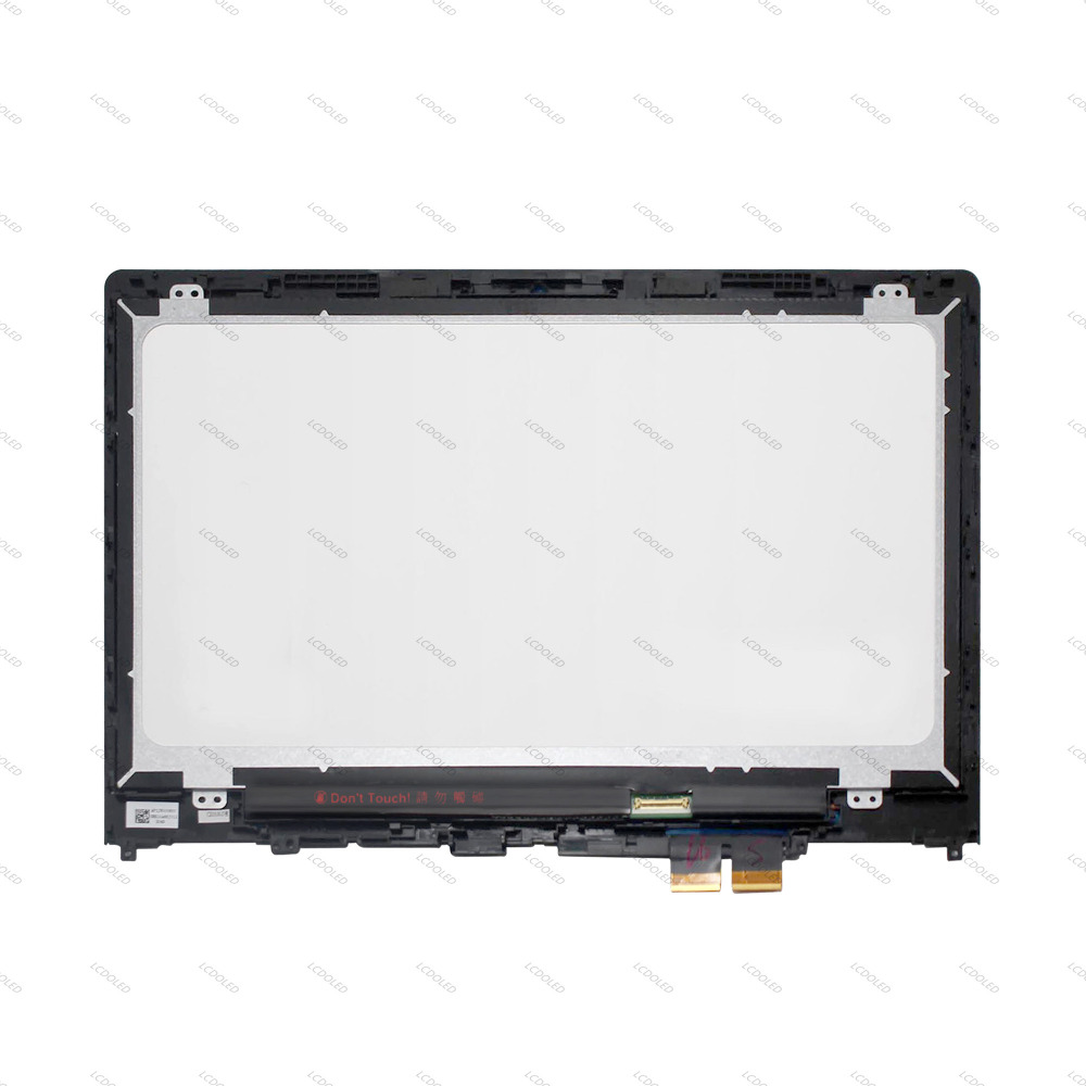 14 Touch Panel Glass Digitizer + IPS LCD Screen Display Assembly+Bezel LP140WF6 SPB1 for Lenovo Yoga 510-14ISK 80S7 80S700FQIX