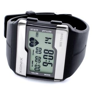 Image 3 - Спортивные часы, модные многофункциональные часы с сенсорным монитором сердечного ритма, мужские спортивные часы, цифровые часы хорошего качества