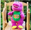 30cm Hot sale New High-quality Barney benny plush toys purple dinosaur Plush toys for birthday gift 1pc