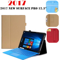 NEWCOOL 2017 New Surface Pro 5 Tablet Case For Microsoft Windows Surface Pro 4 12 3