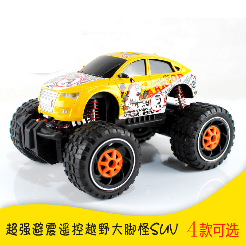 RC Car 2.4G 4CH dirt bike Drive Bigfoot Car Remote Control Car Model Off-Road Vehicle Toy