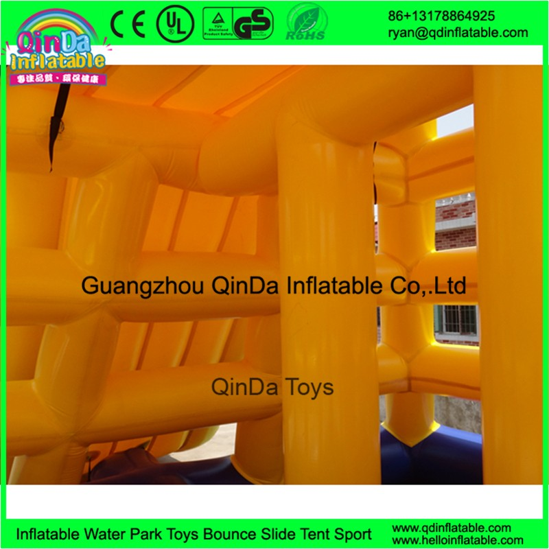 inflatable floating water slide14