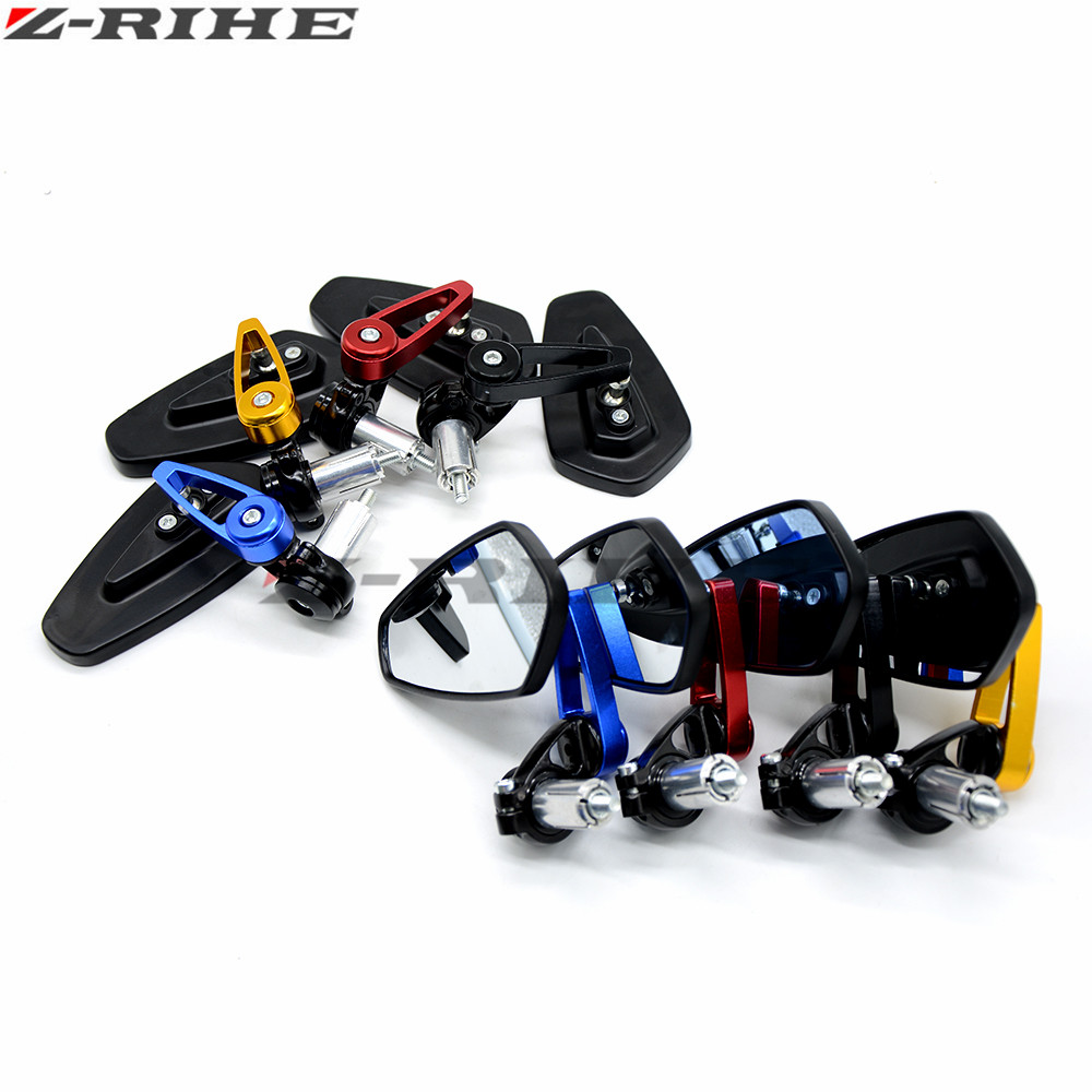 Universal Motorcycle Bar End Rearview Mirrors 22mm 7 8 For Ktm Rc8 Wiring Diagram R 1290 Super Duke Gt 990 Superduke 690 1190 Yamaha In Side