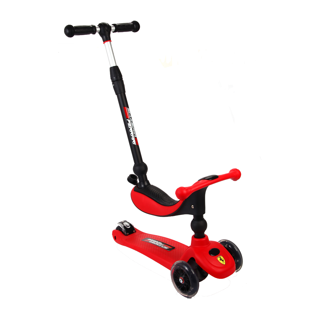 Hot Sale High Quality aluminum Foot Scooters Children Scooter Kick scooters Adjustable Folding Kickboard for 3-10years children folding kick scooters foot scooters children best birthday gift with flash pu wheels free shipping