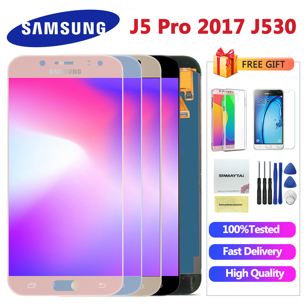 5 2 LCD For SAMSUNG GALAXY j5 2017 J530 J530F SM J530F LCD Display touch Screen Innrech Market.com