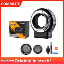 Commlite CM ENF E1 Pro Auto Focus Lens Mount Adapter for Nikon F Lens to Sony E Mount A9 A7II A7R3 A7M3 A7SII A6300 A6500 A6100