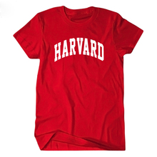 Harvard University T-Shirt Short Sleeve T Shirt Tee Men And Women Casual Jersey Streetwear Runaway Clothes