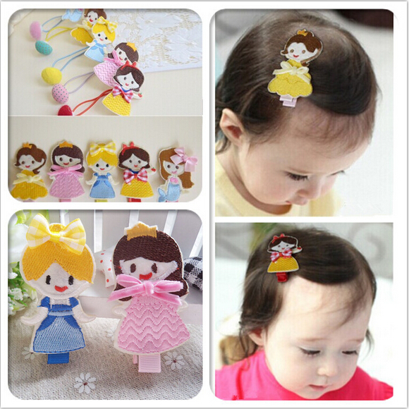 girl kids baby princess hair clip accessories for girls hair clips hairpins
