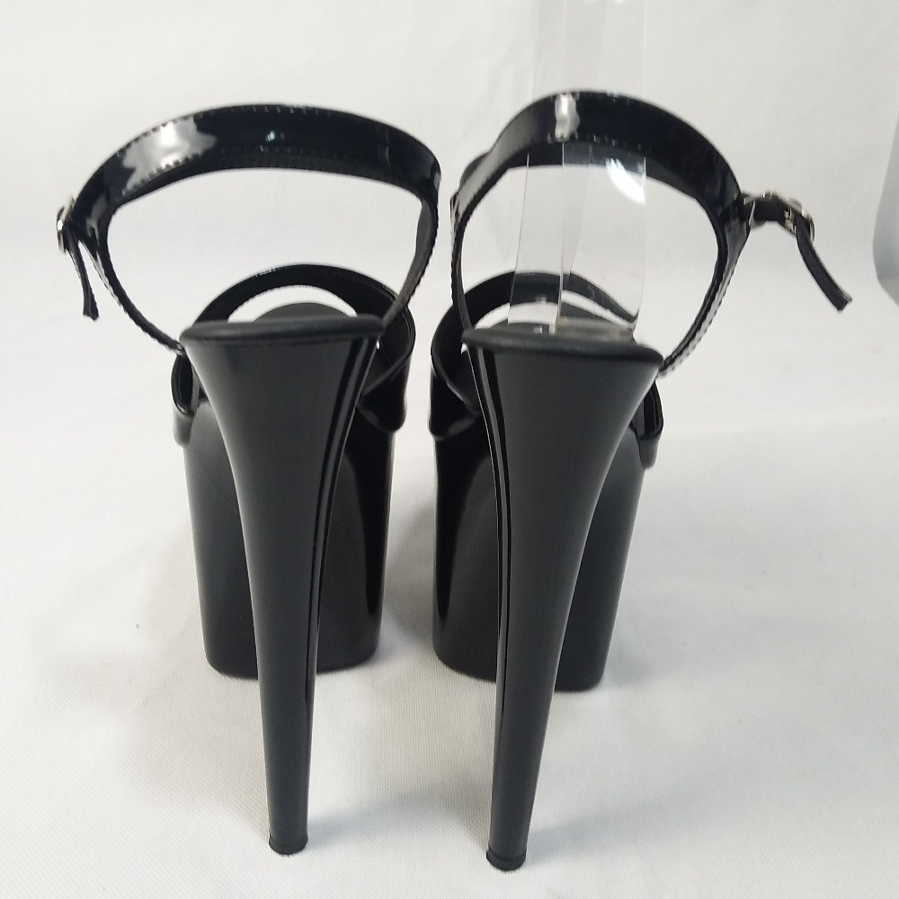 Femmes Argent Bout Plate Cm À forme Stylet Chaussures De Pouces 20 8 Sandales Hauts Danse Talons Pointu Ouvert wqxz0gxTBS
