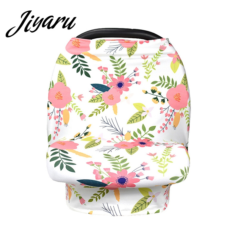 Mommy Breastfeeding Scarf for Babies Baby Car Seat Canopy Mommy Nursing Covers Shopping Cart Covers High Chair Printed Covers