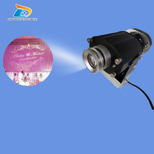 Low Price Rustproof Aluminum Alloy INDOOR Advertising and Decoration 80W LED Gobo Projector 10000lm Gobo Logo