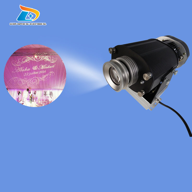 Low Price Rustproof Aluminum Alloy INDOOR Advertising and Decoration 80W LED Gobo font b Projector b