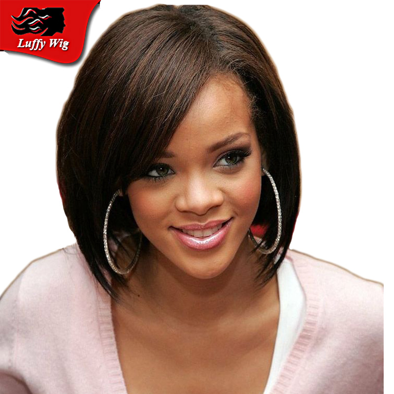 Unprocessed Full Lace Bob Wig Straight Indian Virgin Hair