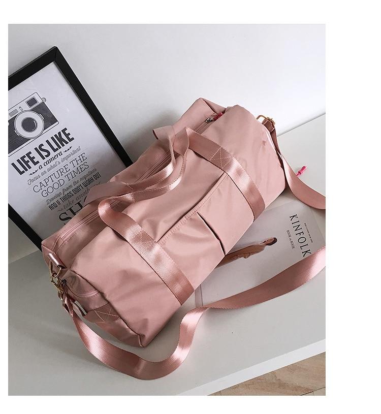 ✔  Большая дорожная сумка для женщин Yoga Fitness bag ✔