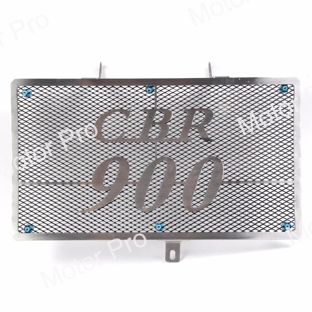 Для Honda CBR900RR 1992 1993 1994 1995 1996 1997 1998 1999 ЦБ РФ 900 рублей Решетка радиатора, Защитная Решетка радиатора гвардии