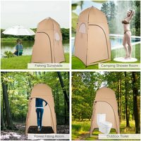Lixada Portable Tent Outdoor Shower Tent Camping Tent Travel Bath Shelter Fitting Room Tent Fishing Camping Toilet Changing Room