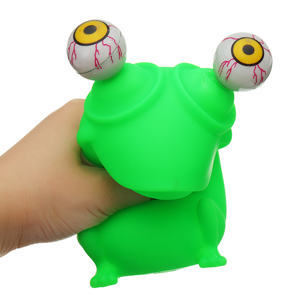 Painstaking Novelties Gag Toys Out Stress Reliever Frogs Squeeze Vent Gift Toy With Box Anti Pressure Children Funny Toy 12*8*8cm Toys & Hobbies