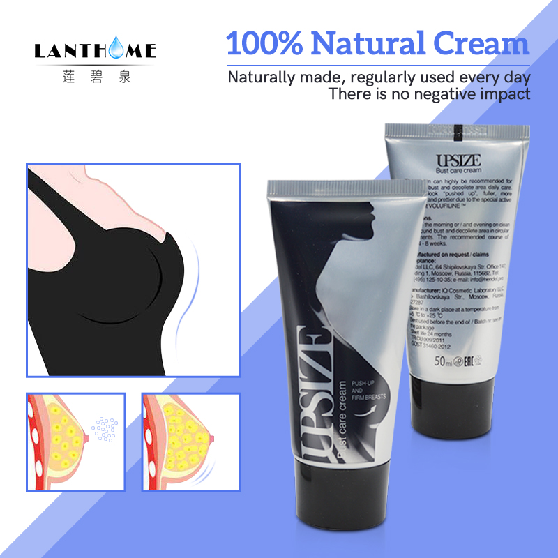 Best Up Size Bust Care Breast Enhancement Cream Breast Enlargement Promote Female Hormones Breast Lift Firming Massage Cream