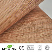 2019 MY WIND Bright Retro Grasscloth Wallpapers 3D Paper Weave Design Wallpaper In Roll Luxury Natural Material wandbekleding