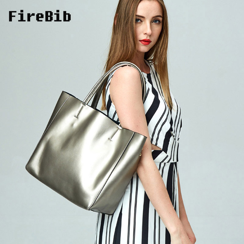 FireBib Women's Cow Leather Handbags Female Shoulder bag Brand designer Luxury Lady Tote Large Capacity Zipper Handbag for Women brand designer large capacity ladies brown black beige casual tote shoulder bag handbags for women lady female bolsa feminina