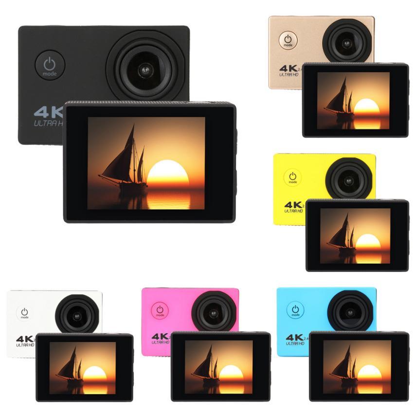 Waterproof 4K F60R Wifi HD 1080P Ultra Sports Action Camera mini go pro DVR Cam Camcorder camara deportiva aksiyon kamera цена