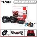 Motocicleta Sistema De Áudio MP3 Speaker Amplificador FM TF/USB Cartão de Moto Sistema de Sistema De Áudio MP3 Speaker Amplificador de Áudio Preto Mot