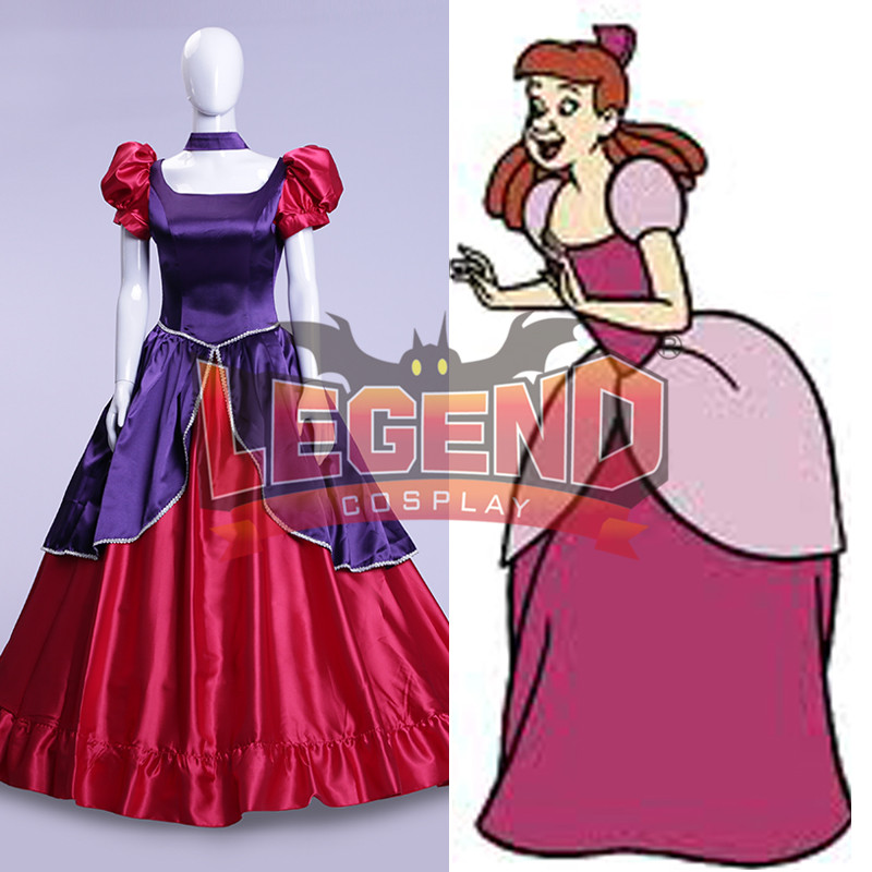Cinderella dress cosplay Cinderella Sisters Anastasia dress cosplay costume dress custom made v02