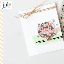 Julyarts New Stamps and Dies 2018 Scrapbook Dies Metal Cut Cardstock Irregular Figure Stencil Background Decoration(China)