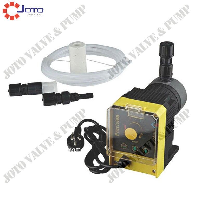 Manufacturer JLM0408 PVC 28W 220V 50HZ Solenoid Diaphragm Metering Pump